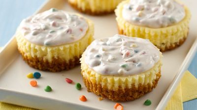 Cheesecake Cupcakes recipe from Betty Crocker