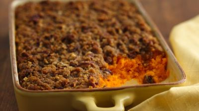 Carrot Soufflé with Pecan Topping recipe from Pillsbury.com