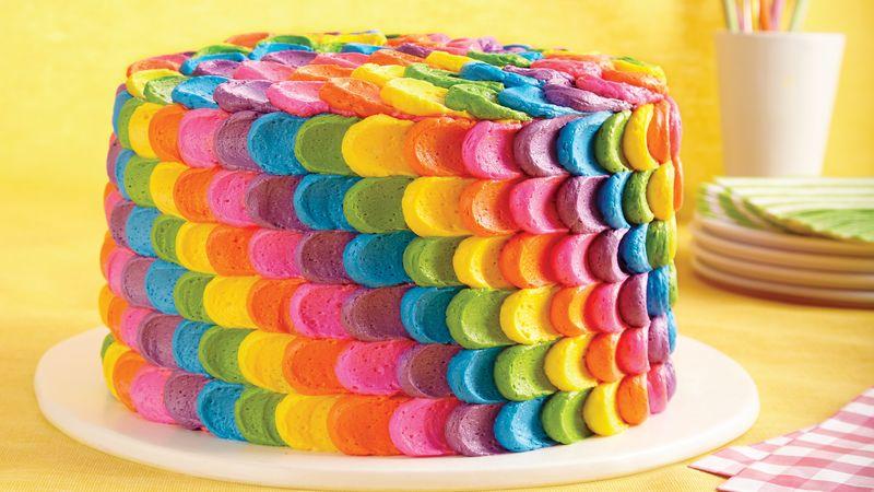 Rainbow Cake Decorations Ideas Elitflat