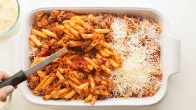 Classic Baked Mostaccioli Recipe - Tablespoon.com