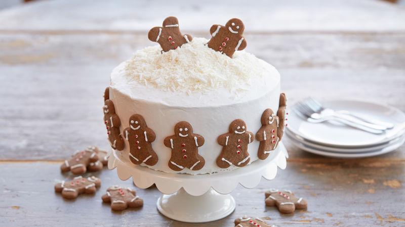 Holiday Gingerbread Cookie Cake Recipe Bettycrockercom