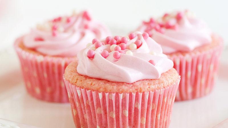 Pink Lemonade Cupcakes Recipe Bettycrockercom