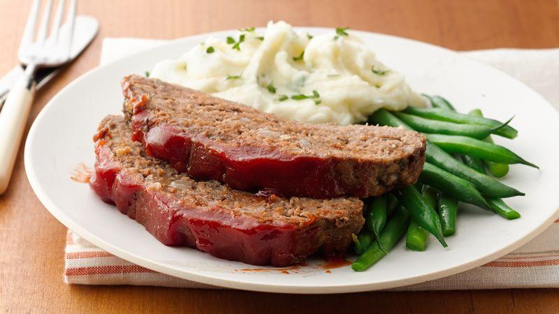 Classic Slow-Cooker Meatloaf Recipe - BettyCrocker