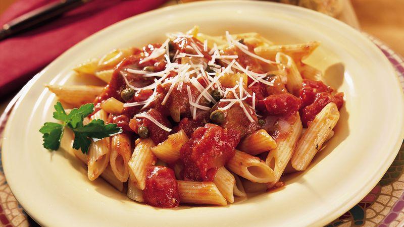 Tuna Tomato And Penne Pasta Recipe Pillsburycom