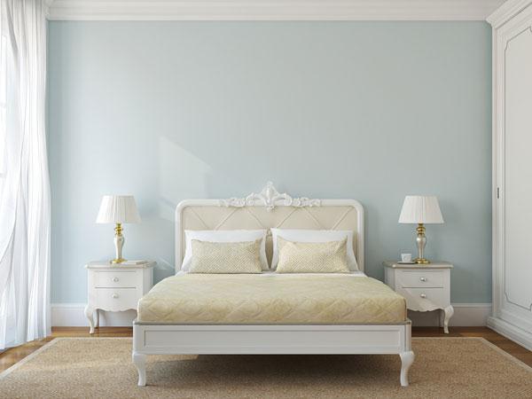 La couleur des murs - 10 astuces pour une chambre Feng Shui