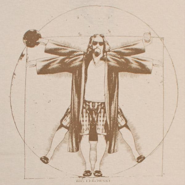 Sons Of Anarchy Quote Wallpaper The Big Lebowski Vitruvian Da Vinci Tan Graphic Tshirt