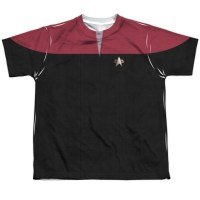 Star Trek Voyager Red Youth Costume Tee | TVMovieDepot.com