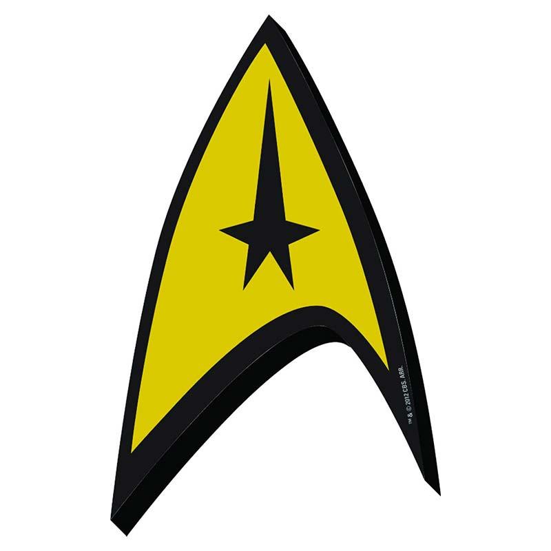 Star Trek The Original Series Logo Magnet TVMovieDepot