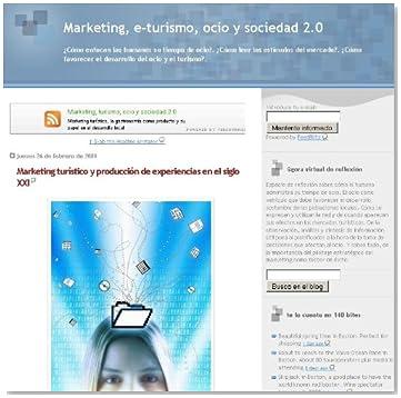 Marketing, e-turismo, ocio y sociedad 2.0 (Spanish Edition)