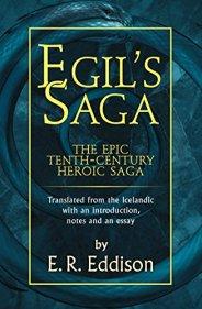 Egil's Saga by [Eddison, E. R.]