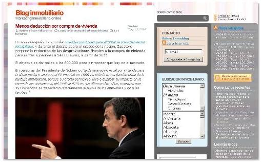 Inmoblog (Spanish Edition)