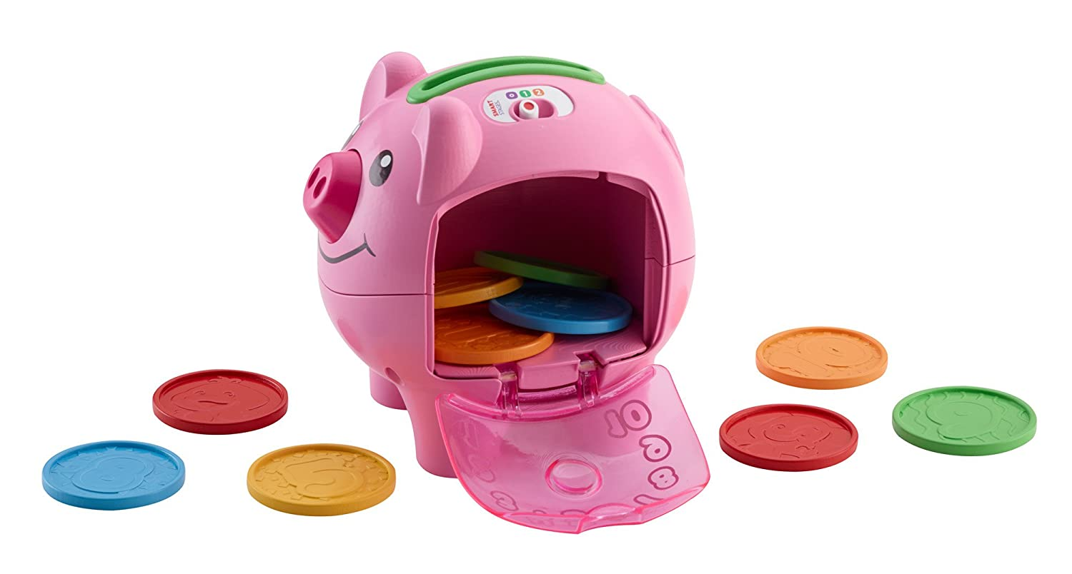 Coin Piggy Bank Toy Fisher Price Pink Piggy Bank Toy