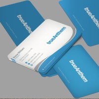 Business cards for innovative tech startup | Business card ...