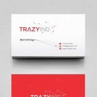 Slick business card for Agile tech startup (logo already ...