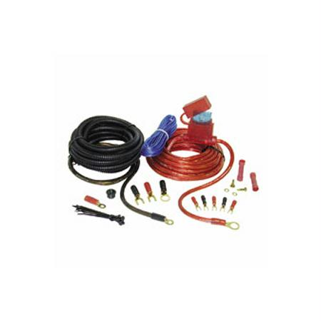 Stinger SPK5281R Pro Series 8 Gauge Car Audio Amplifier Wiring Kit