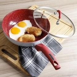 Frigideira Wok com tampa Power Taste - 24 cm - La Cuisine
