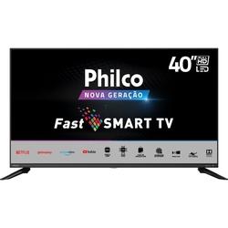 Smart TV LED 40'' Philco PTV40G60SNBL FHD com Tela Infinita Audio Dolby Loja de Aplicativos e Processador Quadcore