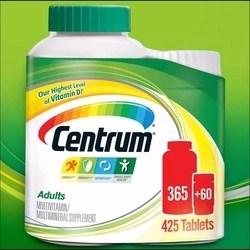 Centrum Multivitaminico 425 Comprimidos 100% Original Importado dos EUA