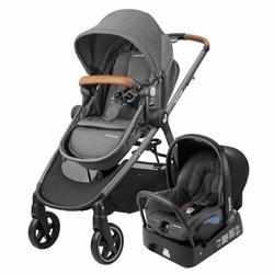 Carrinho de Bebê Travel System Anna Sparkl Grey Maxi-Cosi