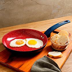 Frigideira sem tampa Power Taste Azul Marinho 24cm - La Cuisine