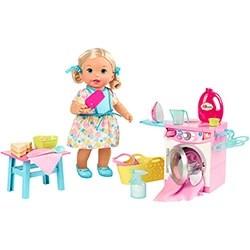 Little Mommy Hora de Comer e Lavar FLC04 - Mattel