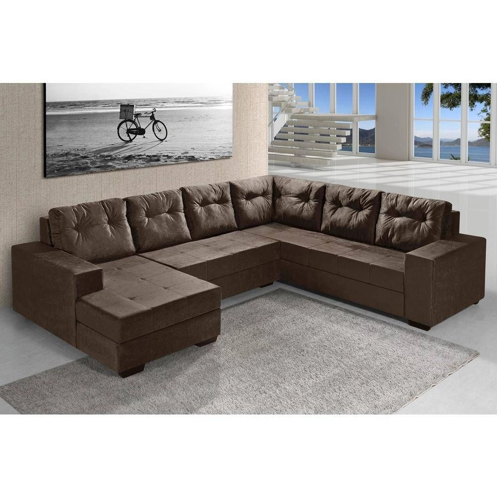 Sofa Retratil E Reclinavel Submarino Sofa 4 Lugar Shoptime
