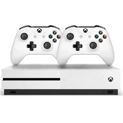 Console Xbox One S 1tb 4k 2 Controles Branco - Microsoft