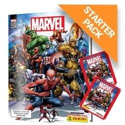 Kit Marvel 80 Anos - Álbum Capa Dura + 12 envelopes