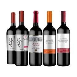 Kit de Vinho Seleção Especial Vivavinho
