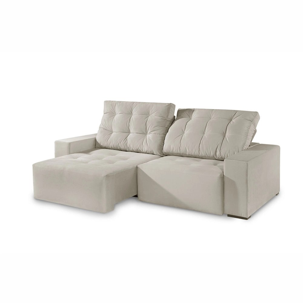 Sofa Retratil E Reclinavel Submarino Sofá Comfortmais Mágnus Retrátil E Reclinável 2 50 Cm Palha