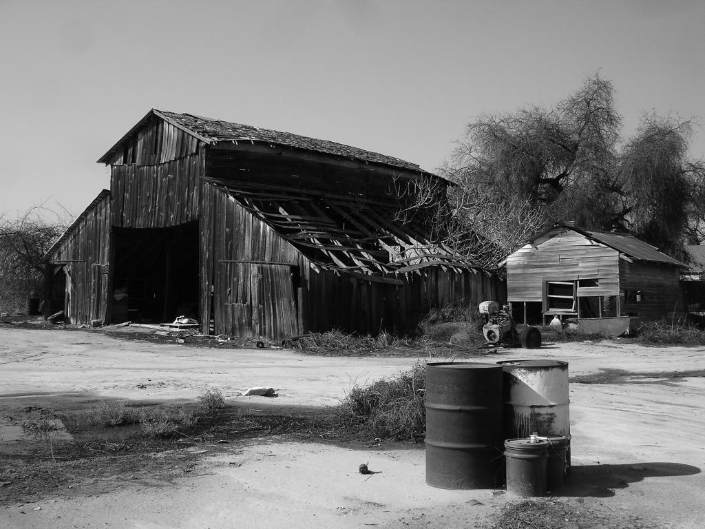 Old Barn Black And White By Z Vincent On Deviantart