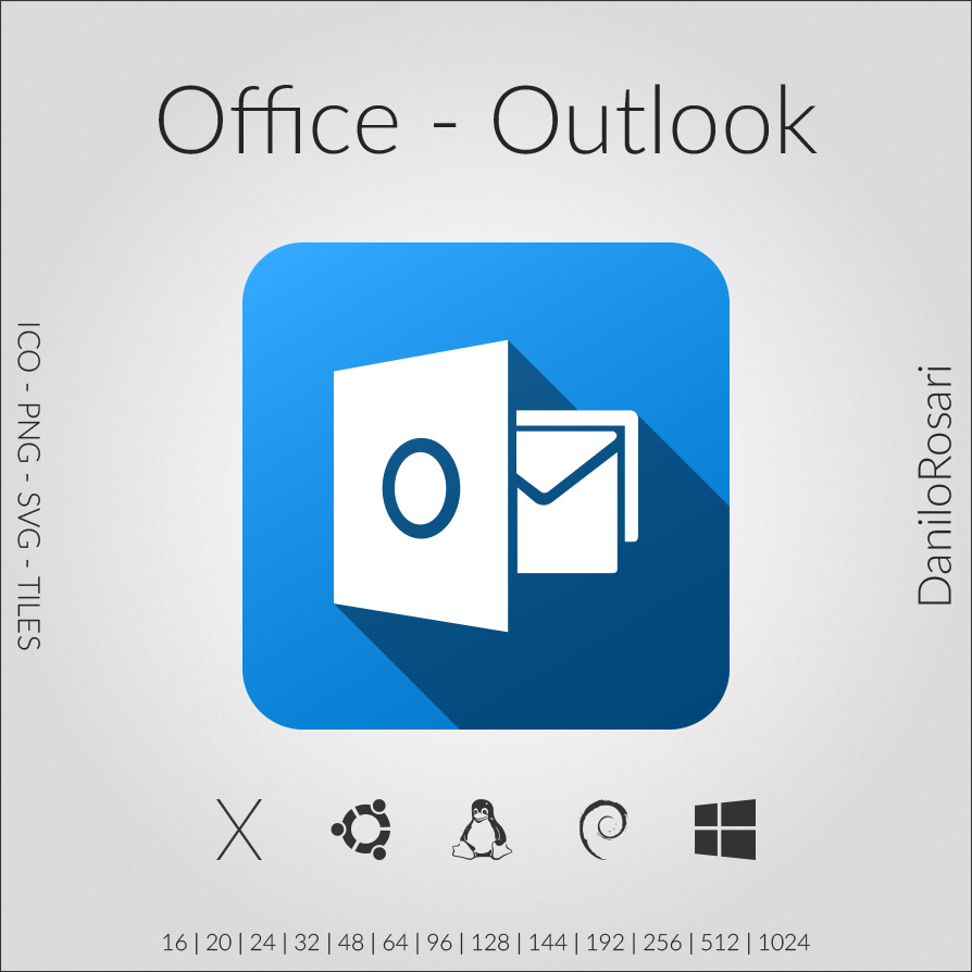 Outlook Pack Office Office Outlook Icon Pack By Danilorosari On Deviantart