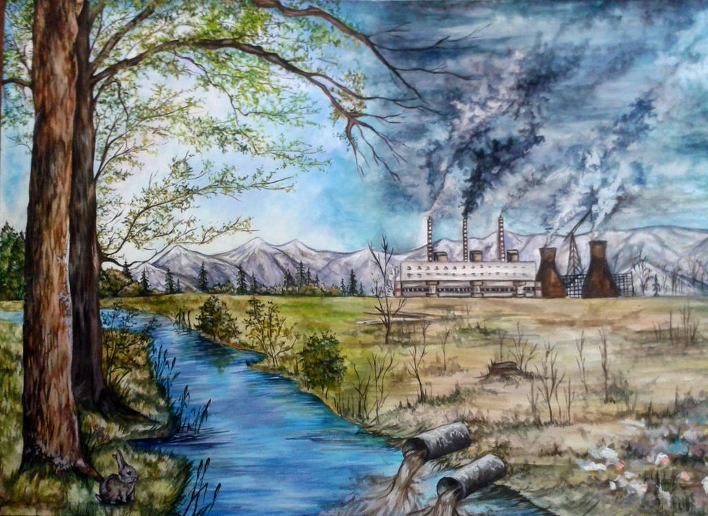 The effects of environmental pollution by DragonRider19982010 on