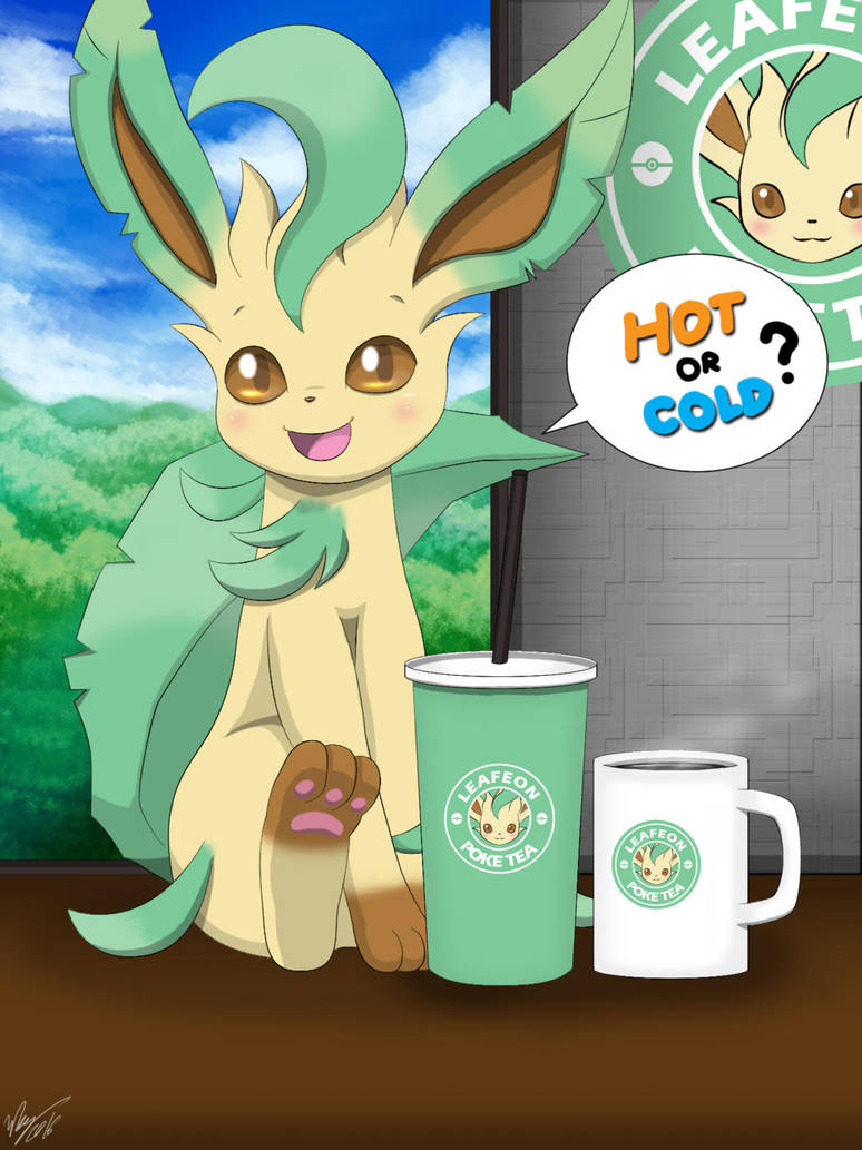 Cute Coffee Mug Wallpaper Hot Or Cold Leafeon By Winick Lim On Deviantart