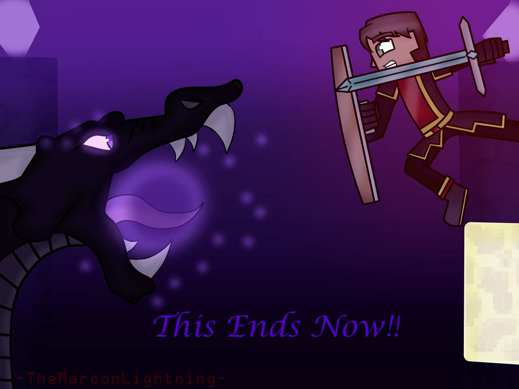 Minecraft Wallpaper Enderdragon Cute Minecraft Story Mode Battle Of The Ender Dragon By