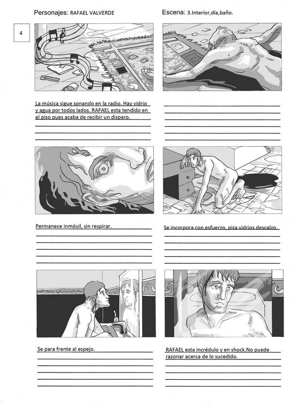 Storyboard sample 4 by RominaSantana-Art on DeviantArt