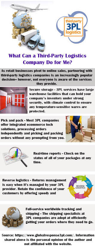 What Can a Third-Party Logistics Company Do for Me by Edwardsims on