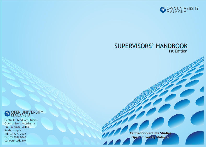 Supervisor\u0027s Handbook Cover Design by kelekatuz on DeviantArt