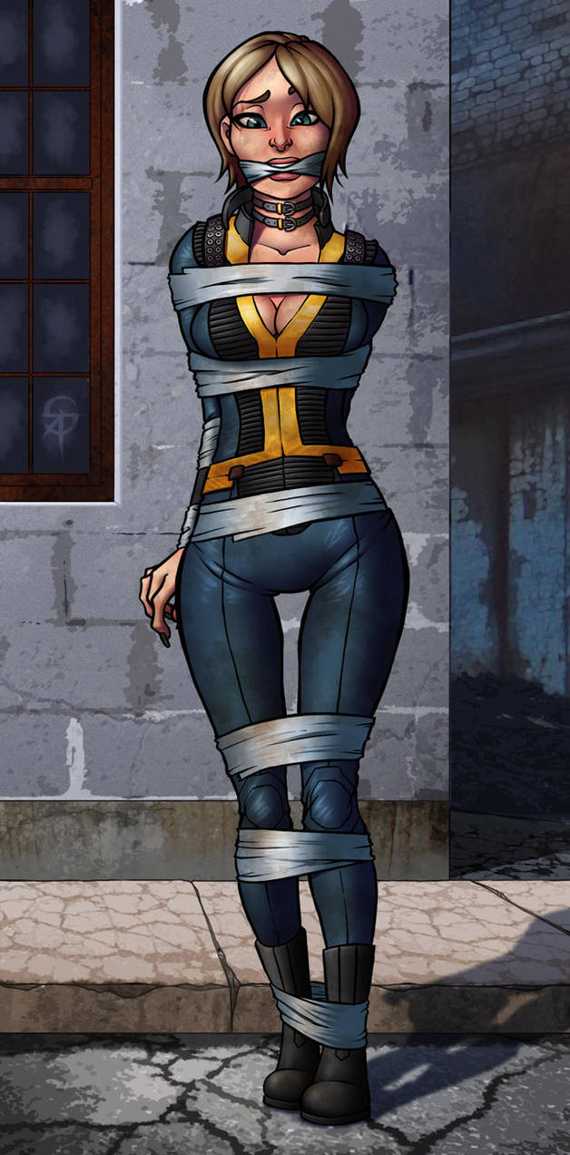 Wallpaper Of Cartoon Cute Girl Fallout 4 Oc Commission By Sneakattack1221 On Deviantart