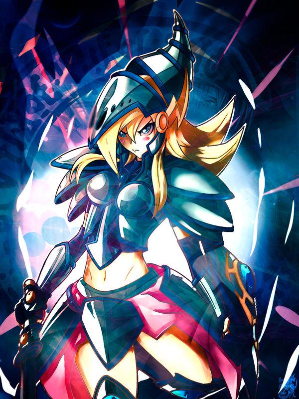 Cyber Girl Wallpaper Wallpaper Dark Magician Girl The Dragon Knight By