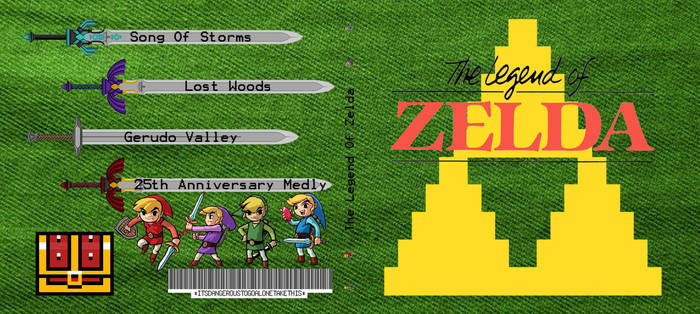 LoZ CD Case Front and Back by RhymesWithSatan on DeviantArt