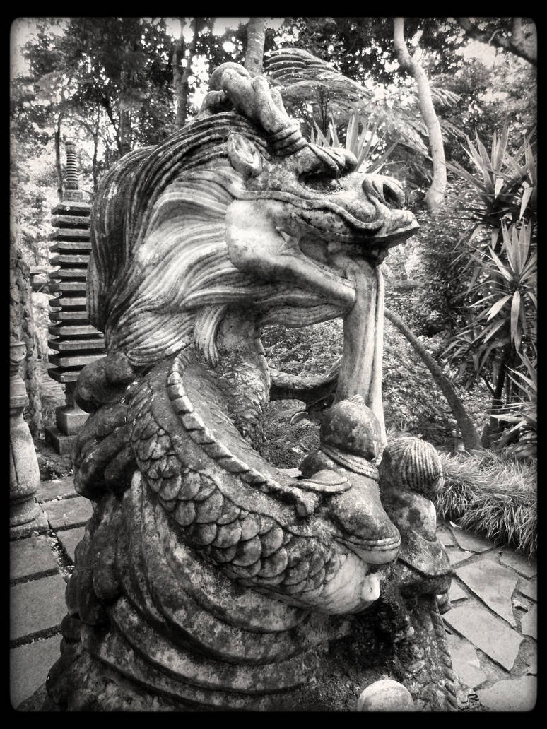 Giant Dragon Statue Chinese Dragon Statue By Giantdragon On Deviantart