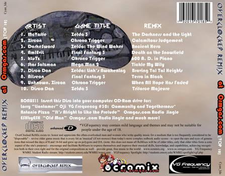 Snake Gas?? CD CaseBack label by Cyan-Ide-Design on DeviantArt