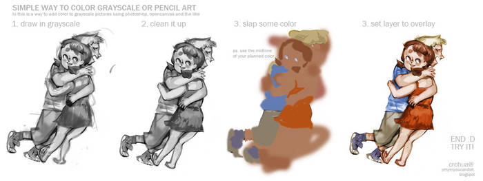 How to Color from Grayscale by oso-oso on DeviantArt