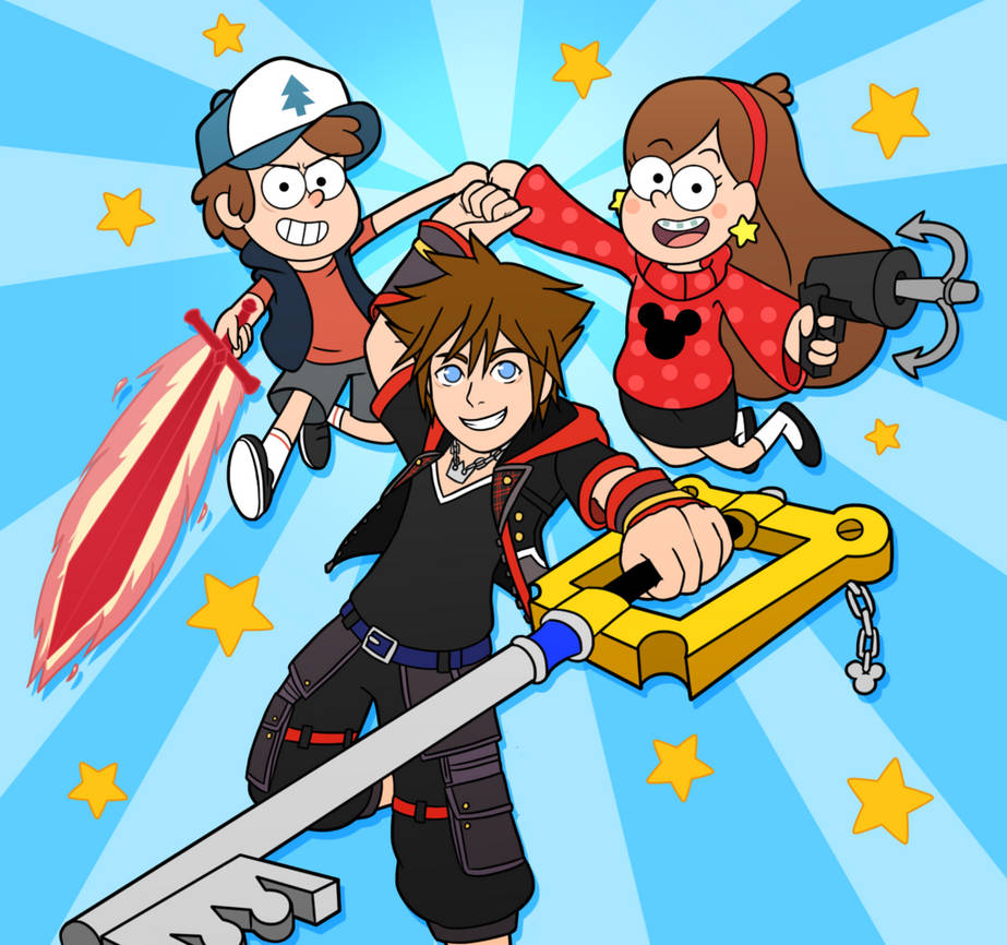 Falling In Reverse Computer Wallpaper Kingdom Hearts Iii Welcome To Gravity Falls Ch 1 By