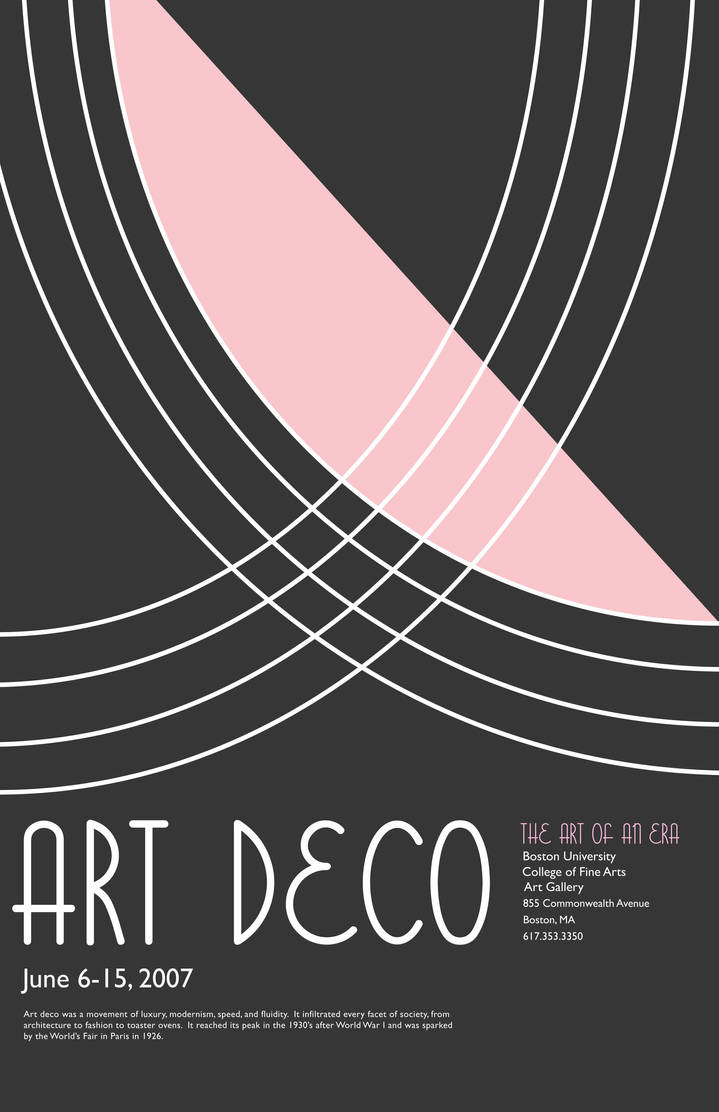 Deco Poster Art Deco Poster By Janinevilla On Deviantart