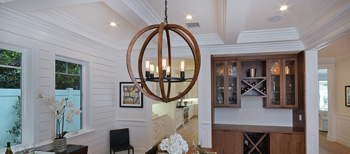 Off Center Dining Room Light Fixture Dining Room Lighting - How To Find The Right Size Fixture
