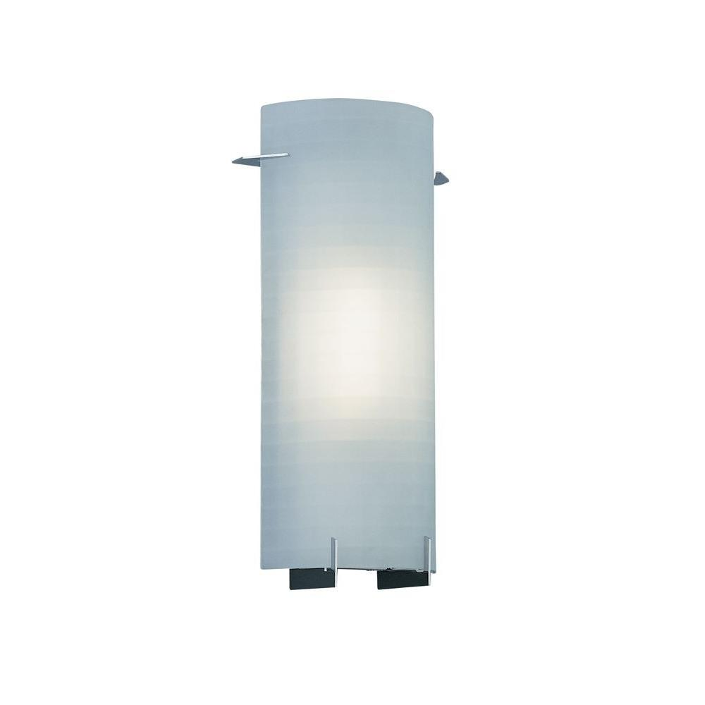 Designers Fountain Lighting 1 Light Sconce With Etched Glass