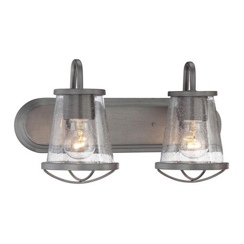 Designers Fountain Lighting Darby Two Light Bath Bar