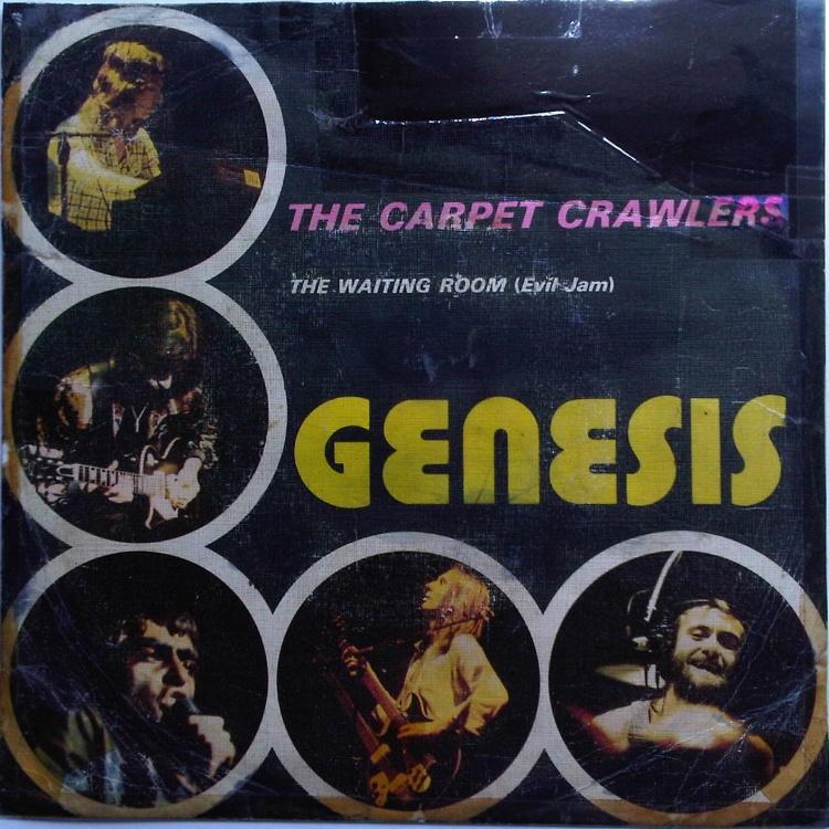Genesis Carpet Crawlers Studio Version